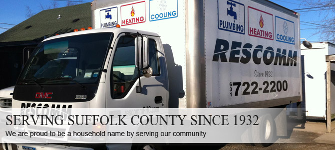 Proudly serving Suffolk County with AC repair service since 1932.