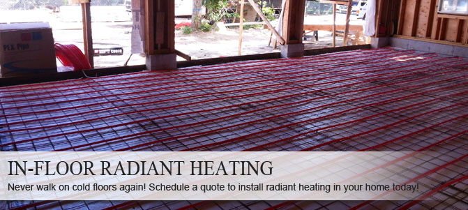 We specialize in radiant heating service in Riverhead NY so call Rescomm PHC Inc.